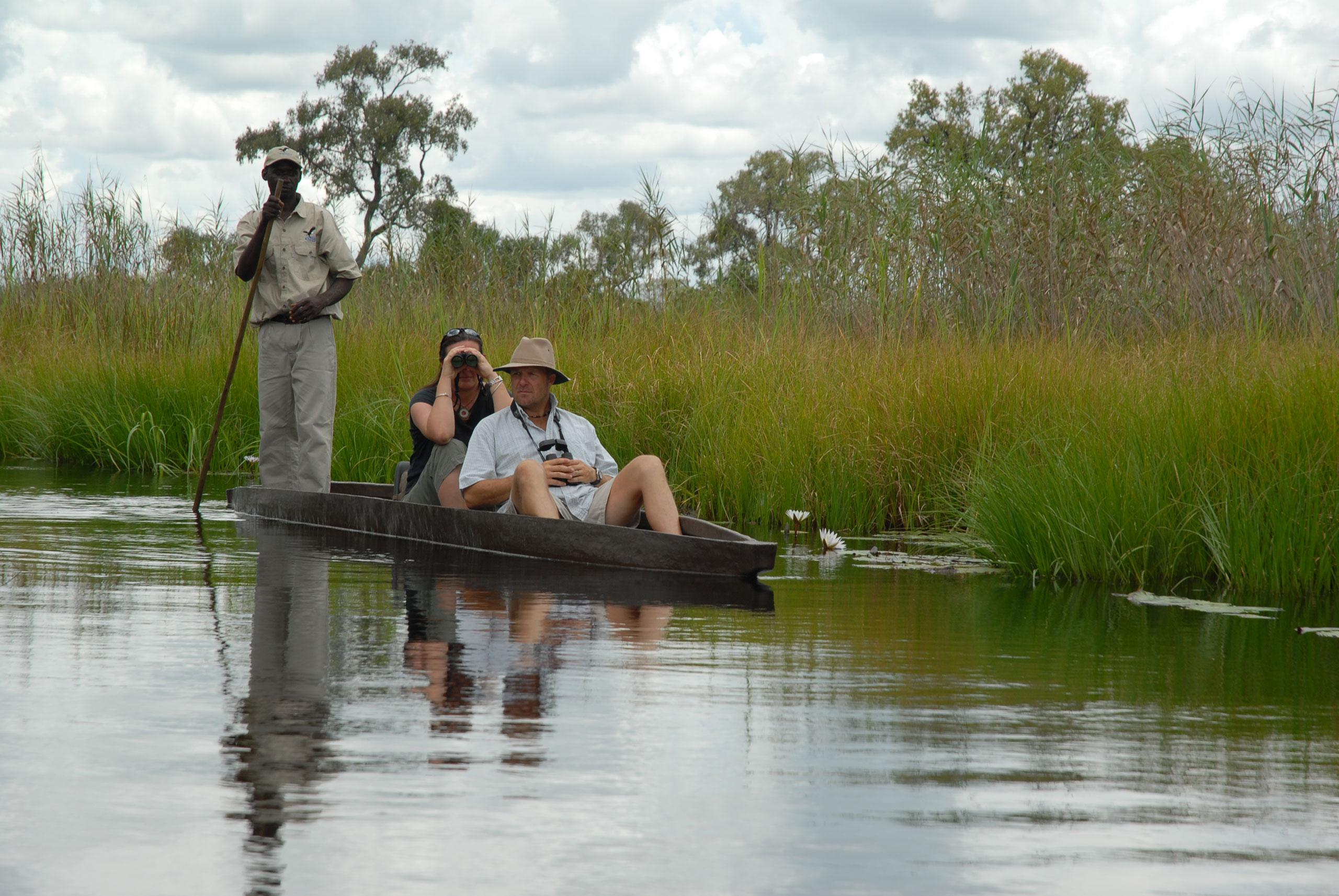 sanctuary-baines-camp-mokoro-okavango botswana enkosi africa