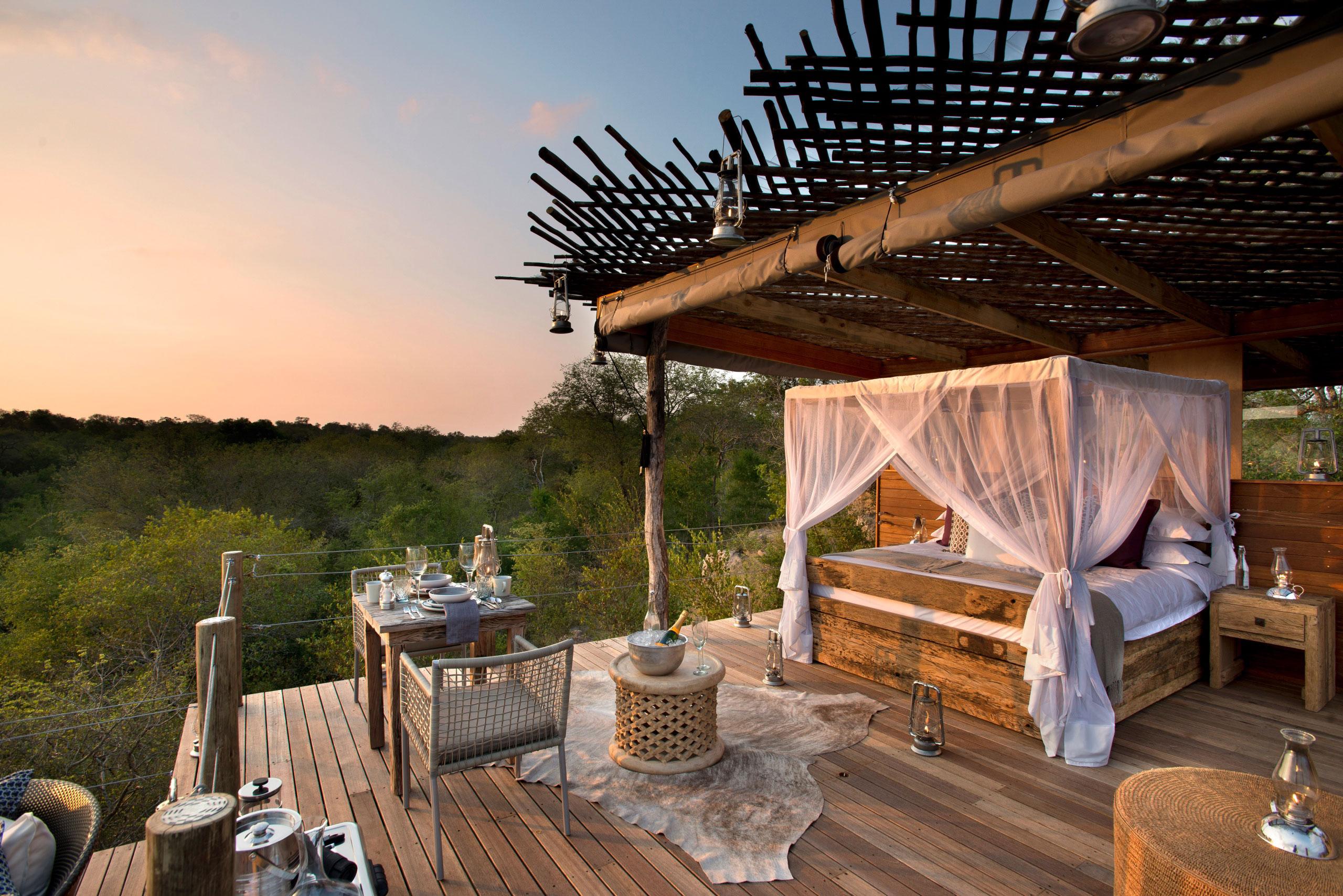 Alojamientos en Sudáfrica que nos han Sorprendido enkosi africa chalkley treehouse lion sands sabi sand safari 1