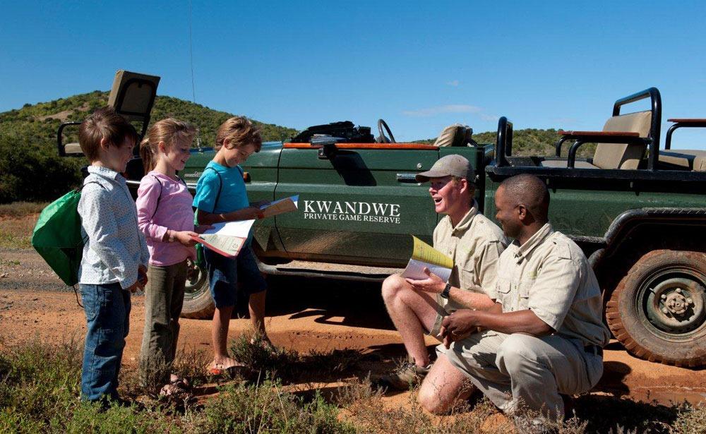 Kwandwe-ninos-safari familia sudafrica enkosi africa