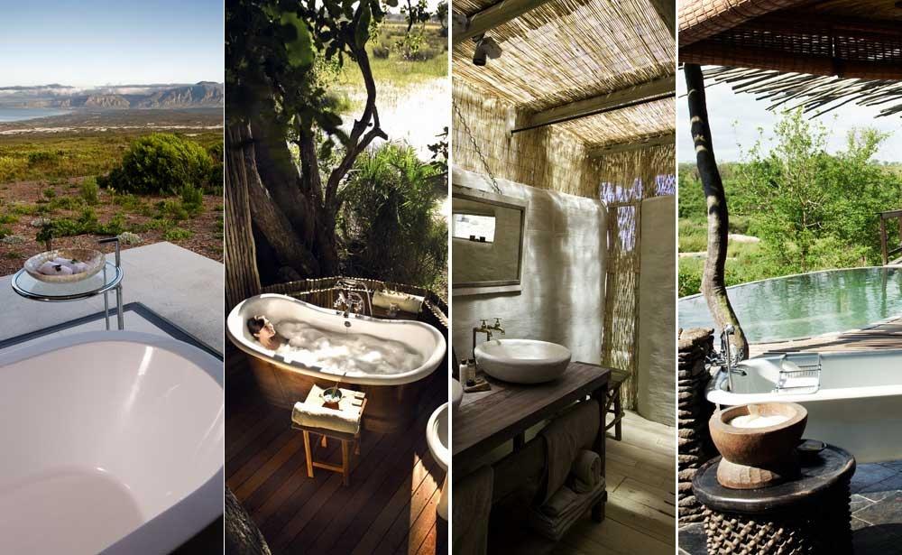 Baños de ensueño: Grootbos Villa, Eagle Island Camp, Damaraland Camp y Singita Boulders Lodge