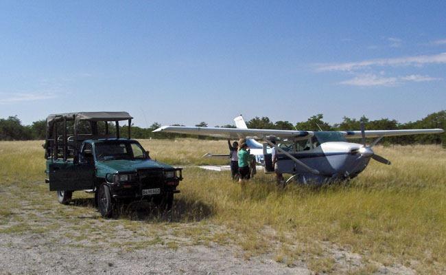 botswana avioneta enkosi africa safari