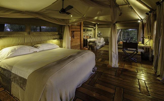mombo camp botswana safari glamping enkosi africa