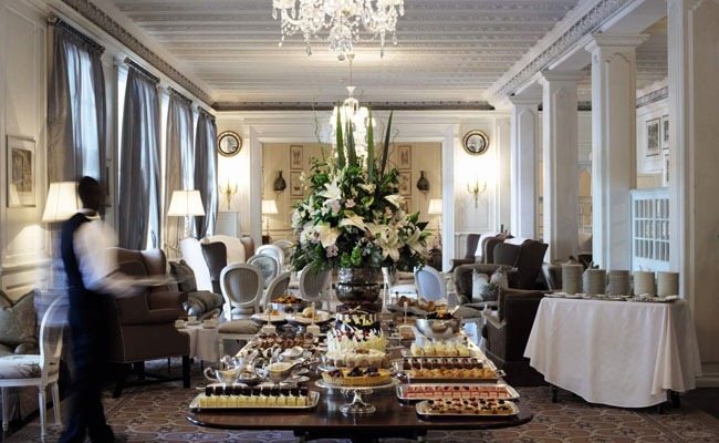 high tea en Mount Nelson hotel ciudad del cabo cape town