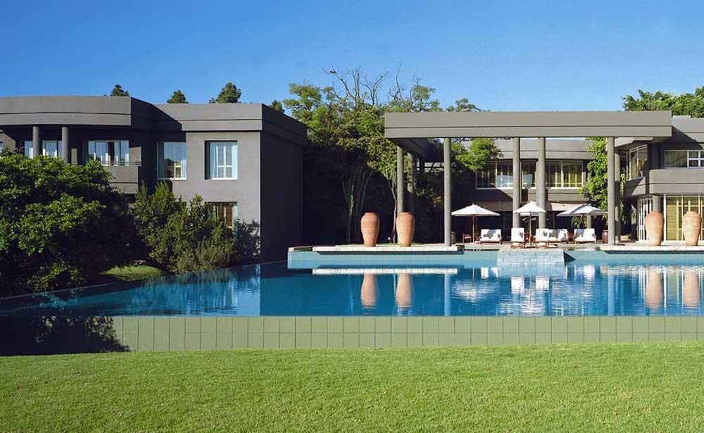 saxon hotel johannesburgo sudafrica enkosi africa