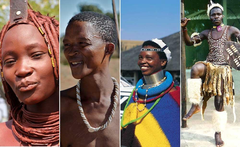 Tribus de África del Sur: Himba, san, Ndebele y Zulú