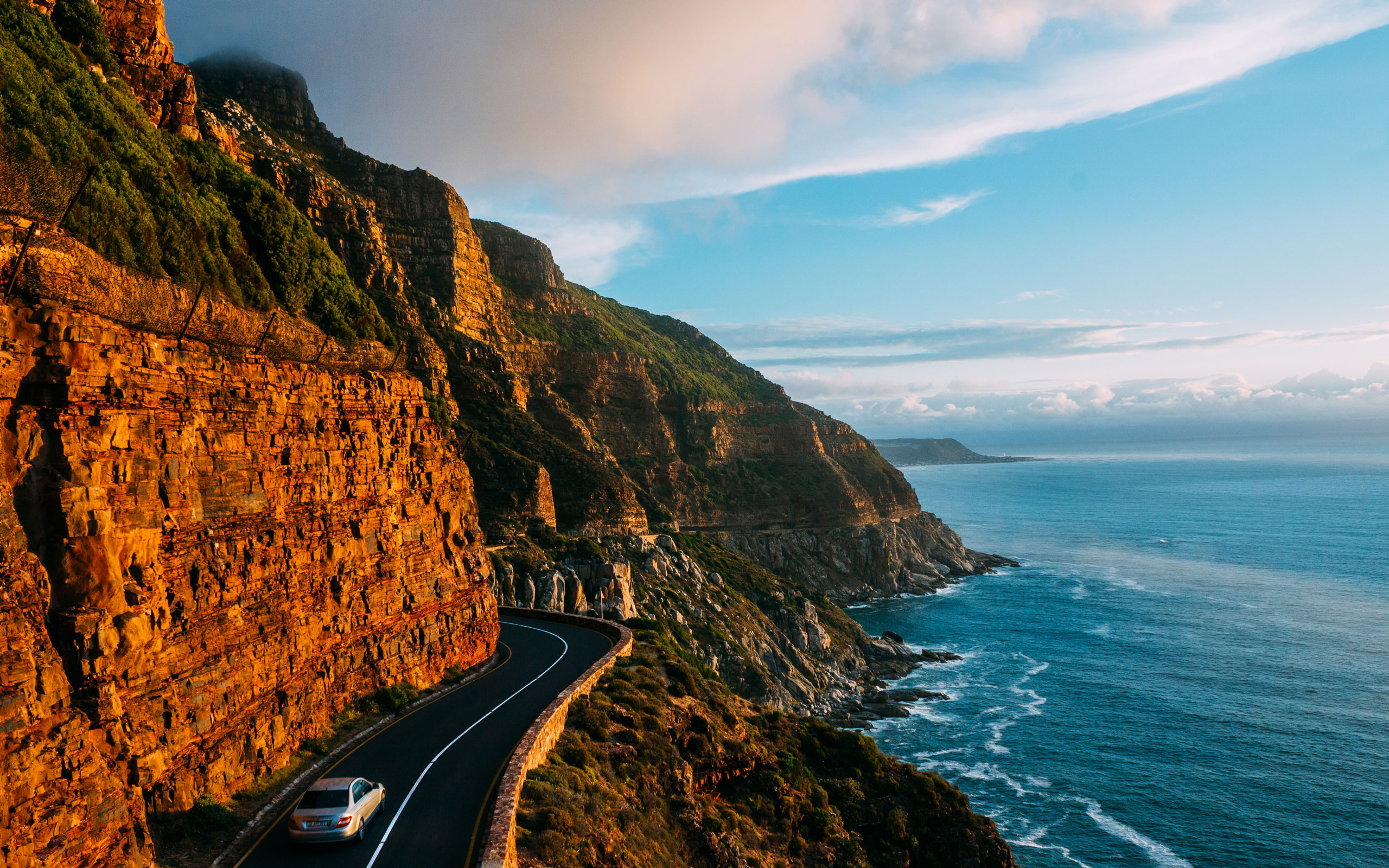 Cape Town Tourism Hout Bay Chapmans Peak Drive sudafrica ciudad del cabo enkosi africa viajar a ciudad del cabo
