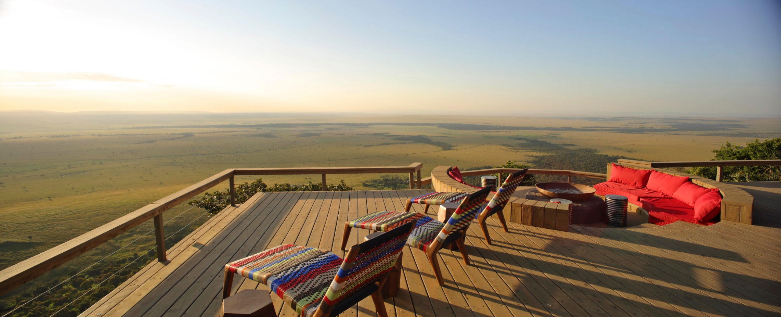 angama mara safari view kenya masai enkosi africa Campamento mejores Vistas África