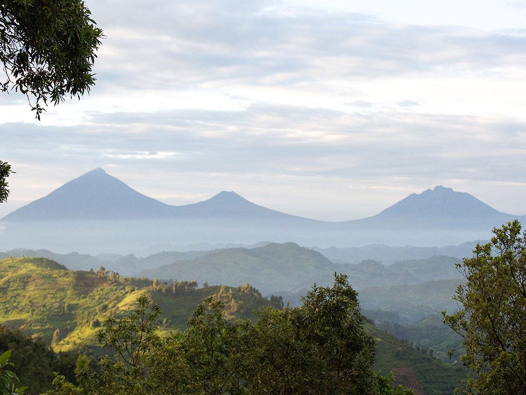 clouds mountain gorilla lodge bwindi uganda view enkosi africa Campamento mejores Vistas África