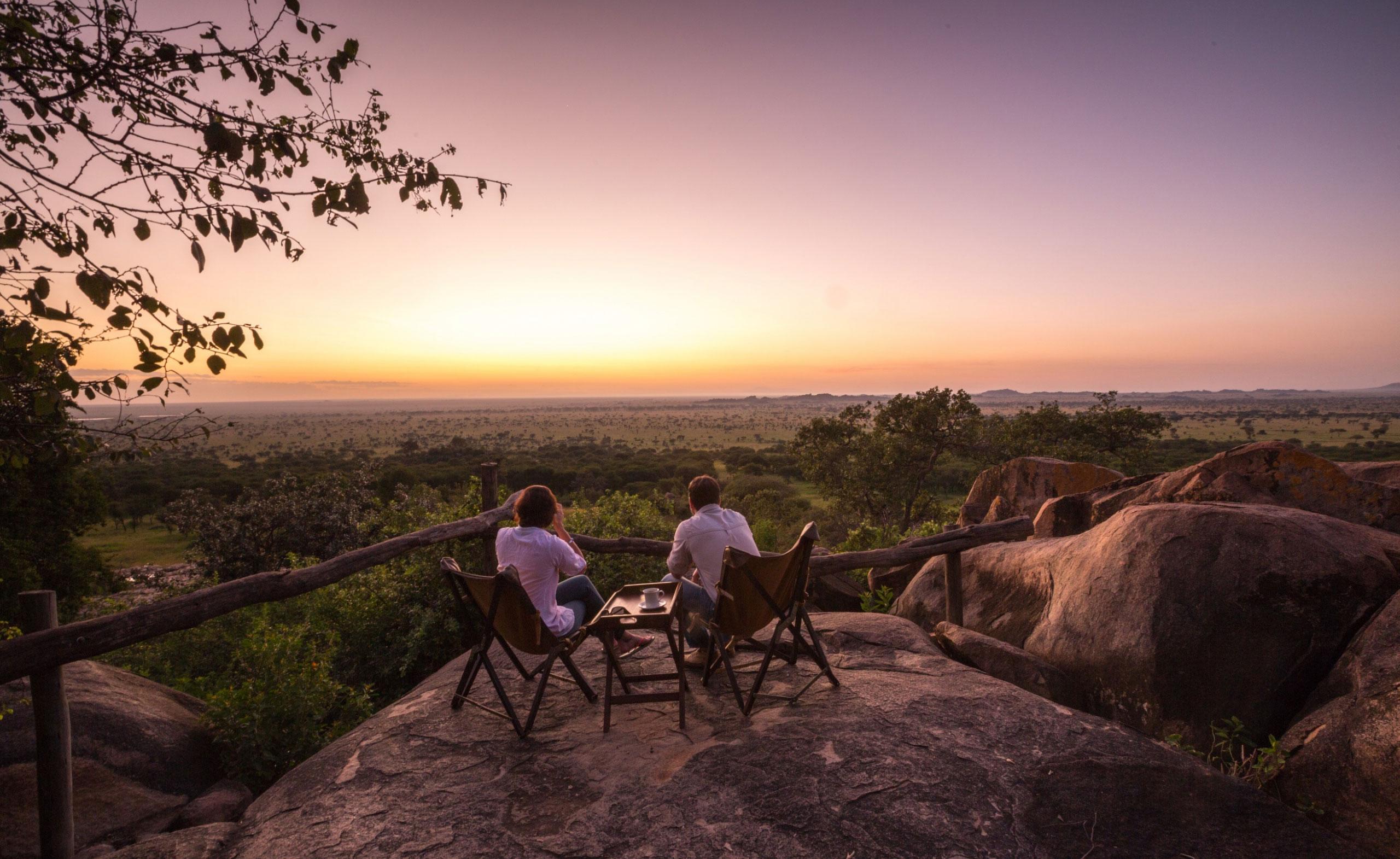 elewana serengeti pioneer camp view tanzania enkosi africa Campamento mejores Vistas África