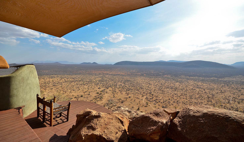 saruni samburu camp kenya view enkosi africa Campamento mejores Vistas África