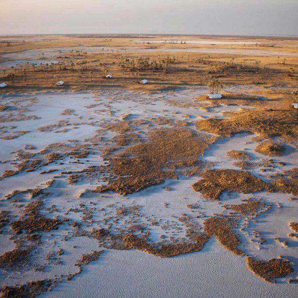 El Salar de Makgadikgadi y el Kalahari Central