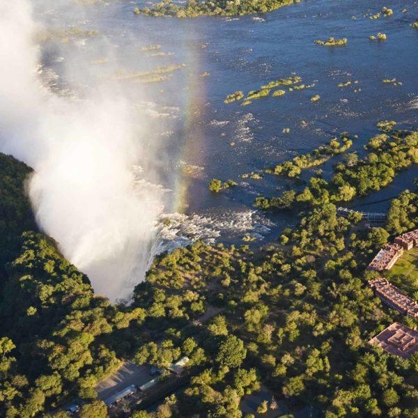 Las Cataratas Victoria, Zambia