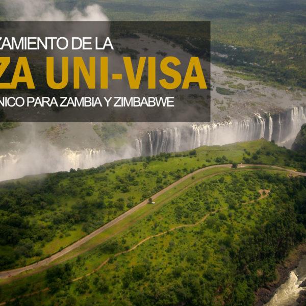 Relanzamiento Visado Unico para Zambia y Zimbabwe