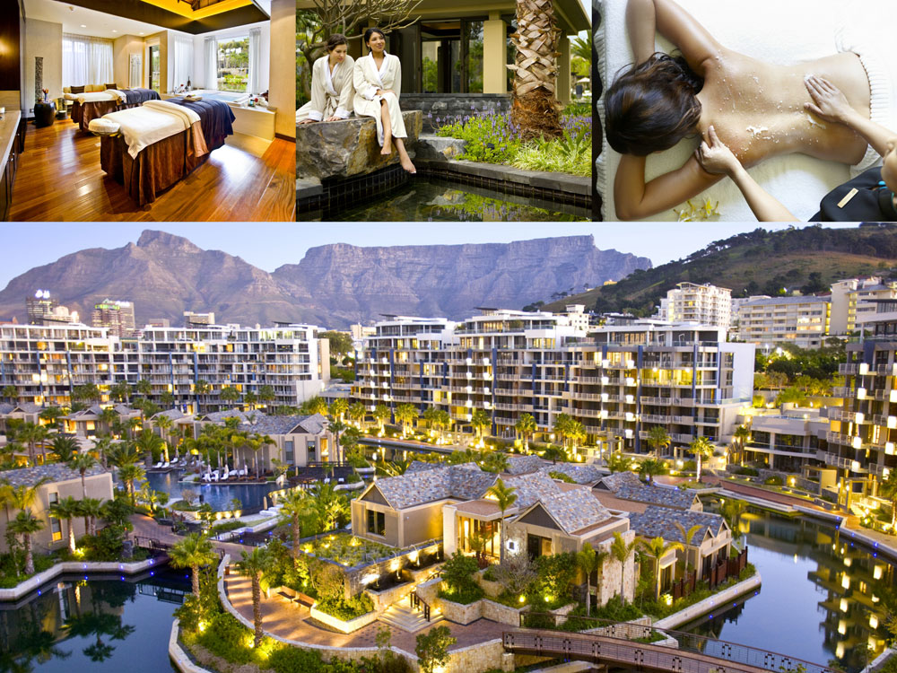 One Only Cape Town Spa collage