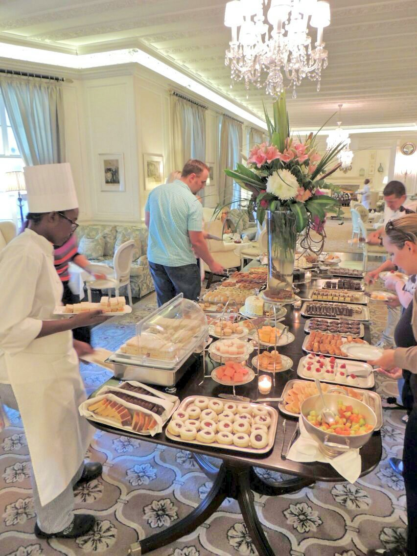 mount nelson cape town high tea table enkosi africa