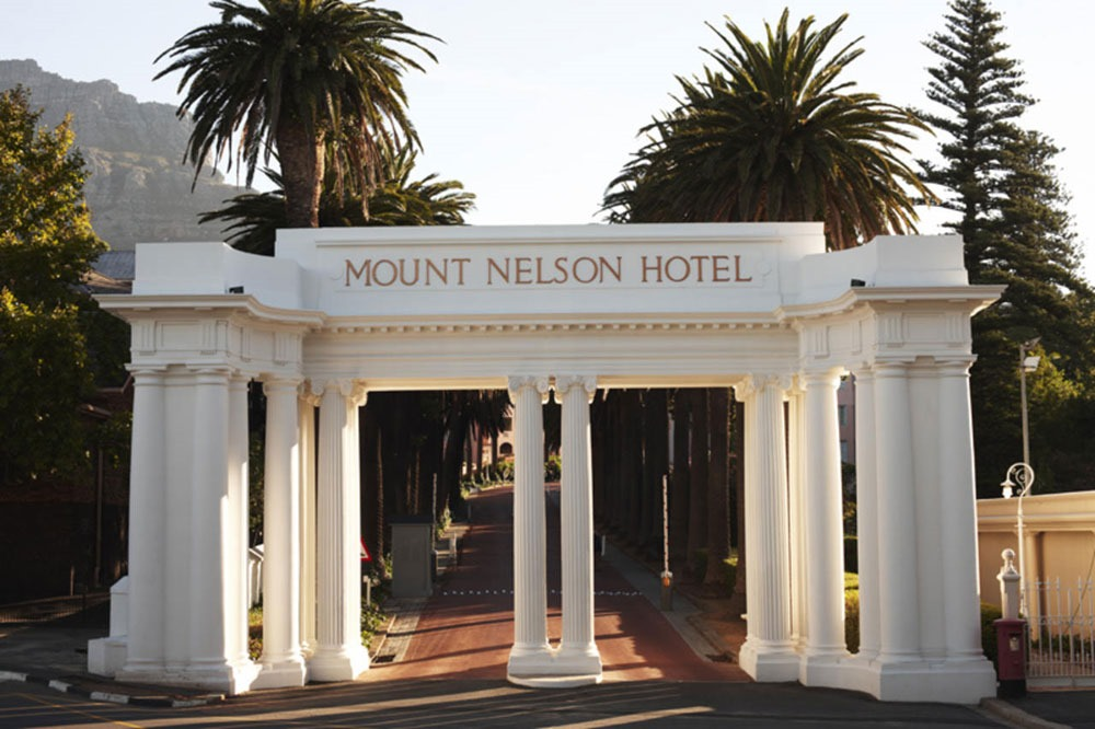mount nelson hotel entrance cape town enkosi africa