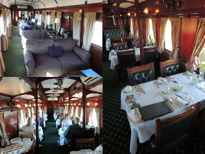 rovos rail enkosi africa train tren interior car vagon