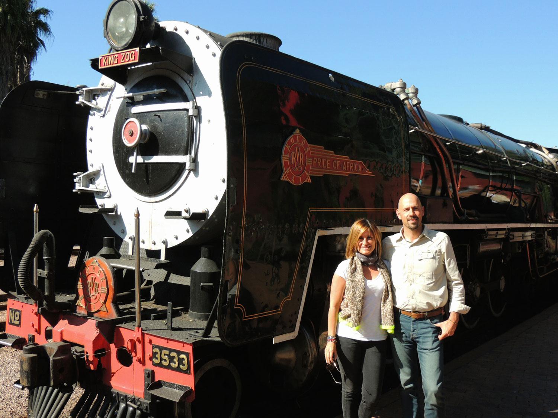 rovos rail enkosi africa train tren sara jordi locomotive locomotora