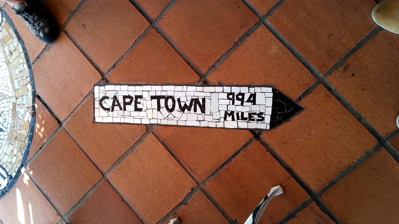 rovos rail enkosi africa train tren sign cape town distance pretoria