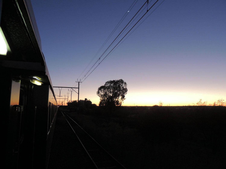 rovos rail enkosi africa train tren sunrise sunset