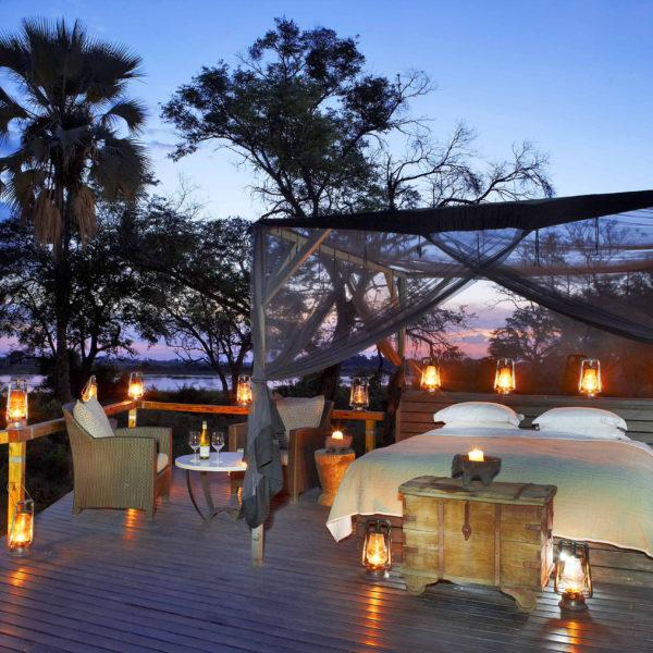 Durmiendo Bajo las Estrellas en África del Sur