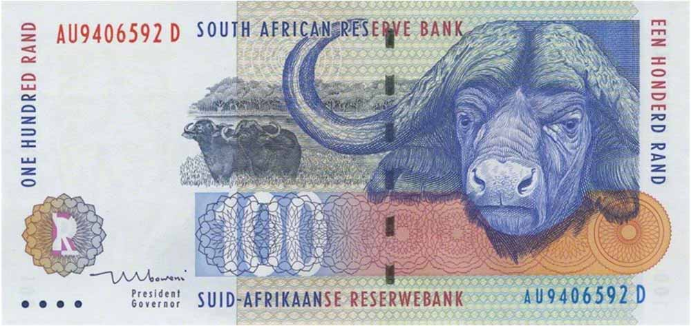 100-south-african-rand-banknote-buffalo-type-1994-1