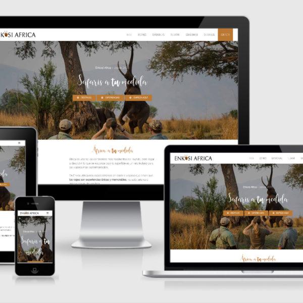 Te Presentamos la Nueva Web de Enkosi Africa