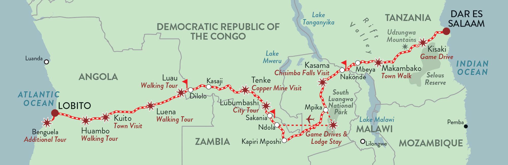 Rovos-Rail-tren-Map-Tanzania-Angola