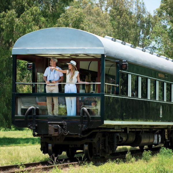 Del Índico al Atlántico en Tren. Cruza África con Rovos Rail