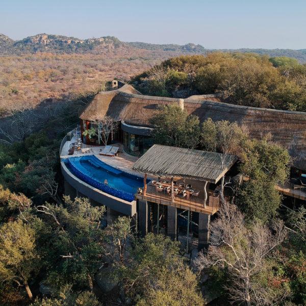 Singita Malilangwe House, Reserva de Malilangwe